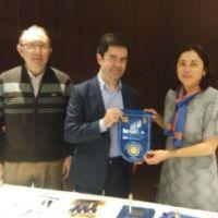EL ROTARY CLUB DE HUESCA RECIBE AL ALCALDE LUIS FELIPE